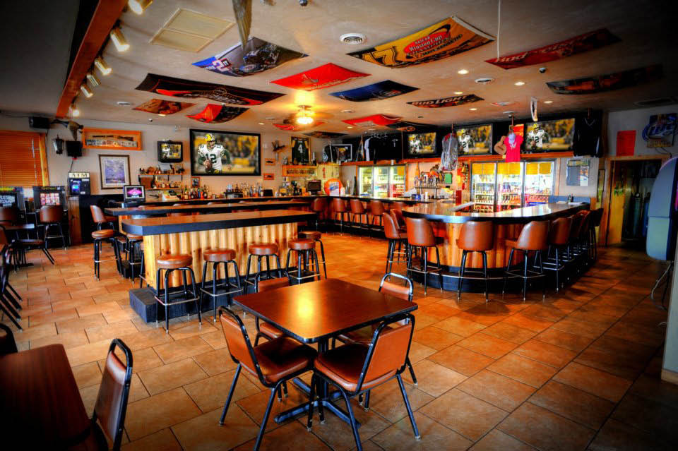 Bar, Drink, Food, Fishing Supply Rental, Party Room, TV, Games, Catering