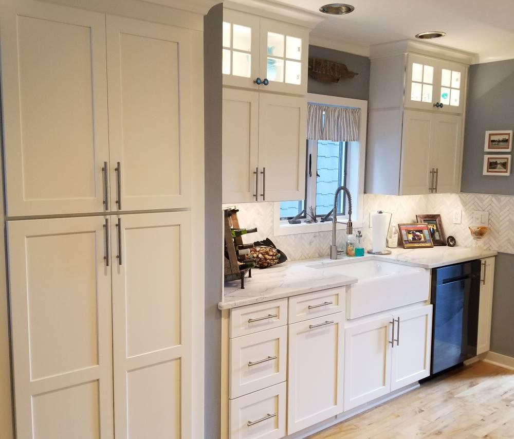 We Do Kitchens 2 Stacked Upper Cabinet Remodel
