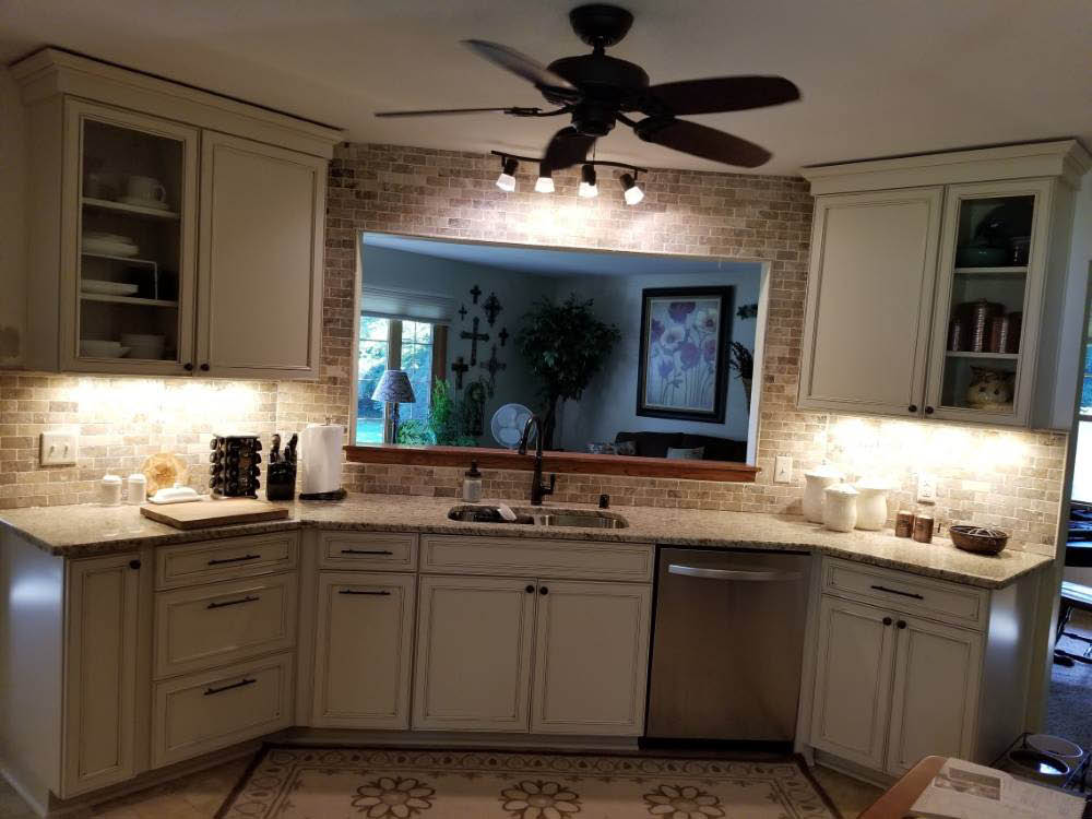 We Do Kitchens 2 Kitchen Open to Living Space Remodel