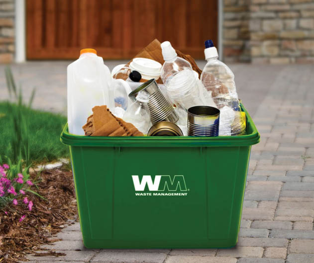 Waste Management Mixed Recycling