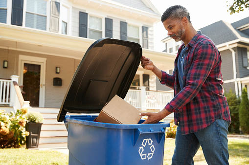 Waste Management Curbside Trash & Recycling Pickup