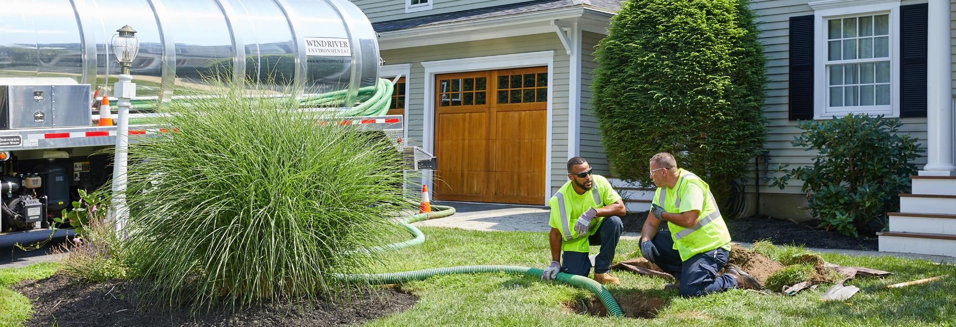 SEPTIC PUMPING AND PROBLEM SOLVING