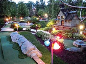goofy golf putt putt 18 hole mini golf courses Wildwood Highlands in Pittsburgh PA