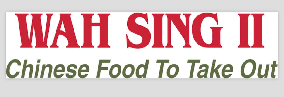 Wah Sing II Chinese Restaurant in Wyckoff NJ banner