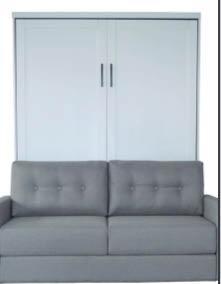 Futon alternative, wall bed