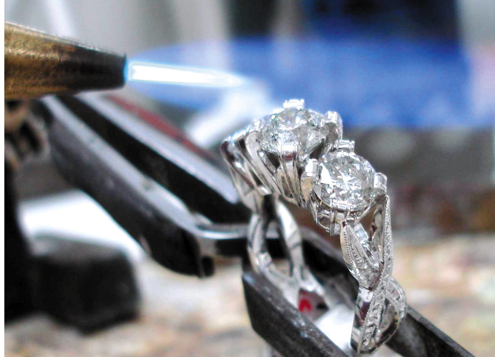 Warren Jewelers can melt down your old jewelry and create a custom piece just for you! Kirkland, WA and Burlington, WA
