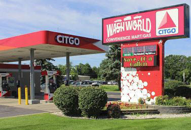 photo of exterior of Wash World Citgo in Flint, MI