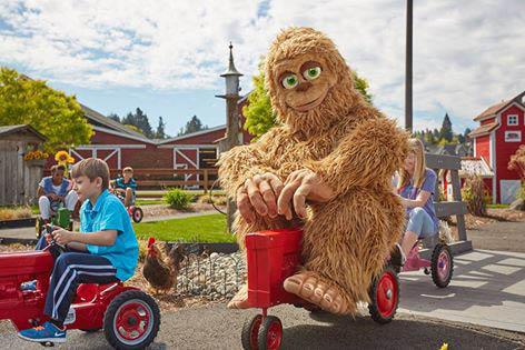 Meet our mascot, Big Washington, at the Washington State Fair in Puyallup, WA