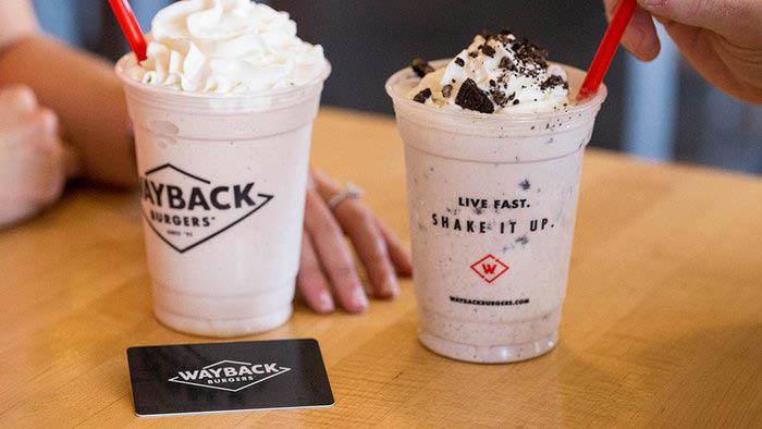 Wayback Burgers hand-dipped milkshakes - Bellevue, Washington - Bellevue burger restaurants - hamburger restaurants in Bellevue, WA