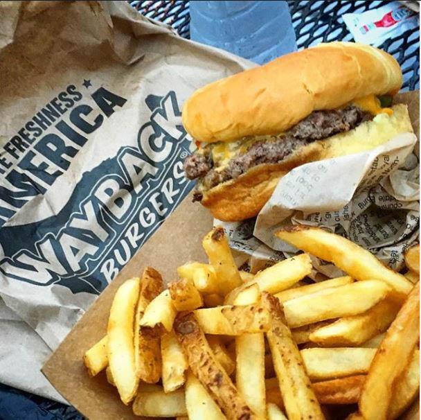 Wayback Burgers' crispy French fries