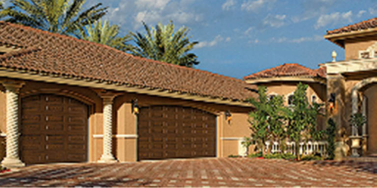 double garages; 2 car garage doors; A-Authentic Garage Door Service; Tucson, AZ
