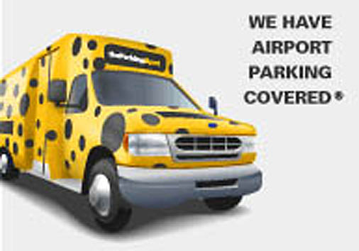 Save on airport parking and an airport shuttle