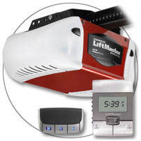 Welborn Garage Doors installs garage door lifts with remote garage door openers