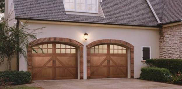 Premium quality wooden double garage doors