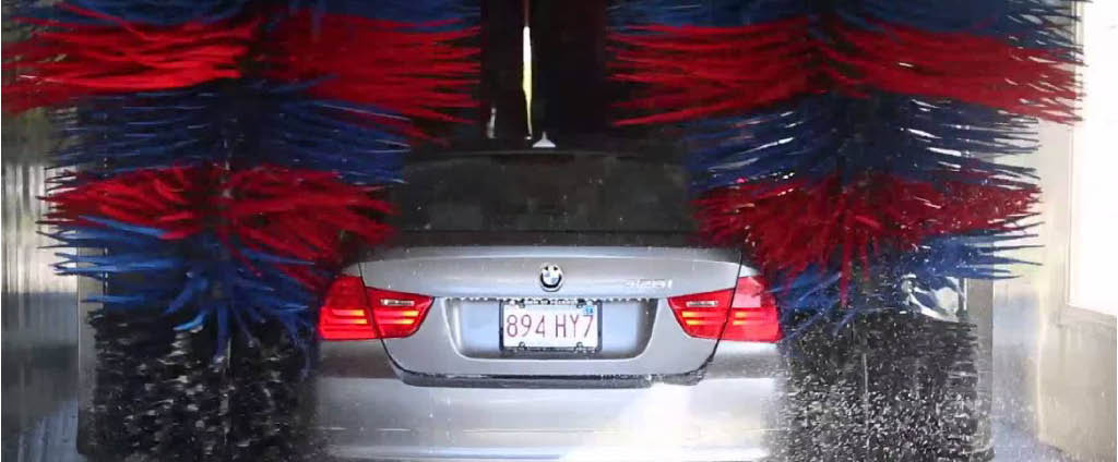Westbury's best car wash and best car wax service