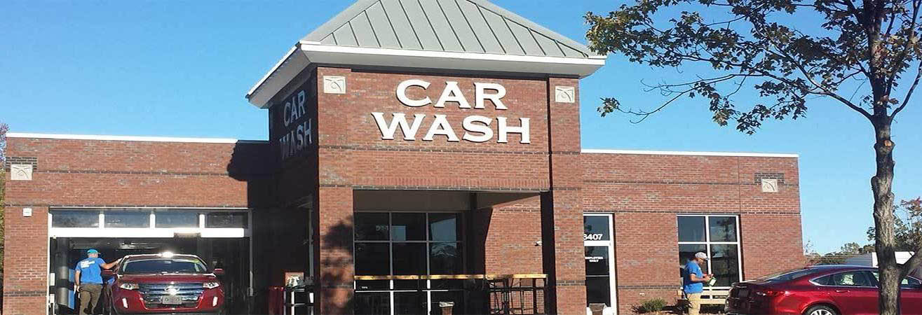 Westgate Car Wash in Raleigh, NC banner ad