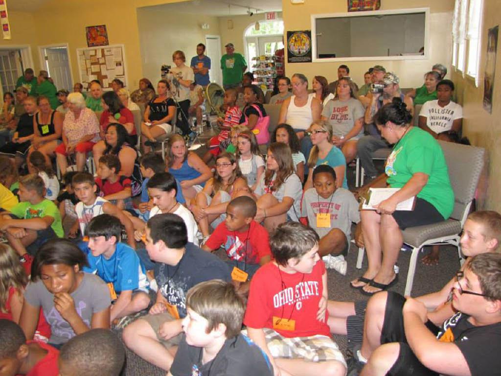 Westphal Avenue Baptist Church kids group
