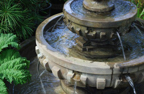 Huge selection fountains at Wight's Home & Garden in Lynnwood, WA