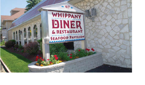 Whippany Diner located in Whippany NJ