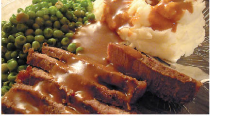 Homemade Baked Meatloaf from Whippany Diner in Whippany NJ