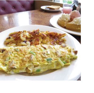 Variety of Omelettes available at Whippany Diner in Whippany NJ