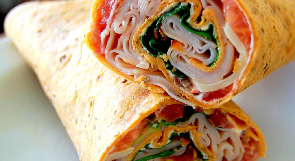 Assortment of Wraps available atWhippany Diner located in Whippany NJ