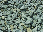 Photo of gravel to be used in landscape supplies at Wholesale Mulch and Gravel in Pittsburgh PA