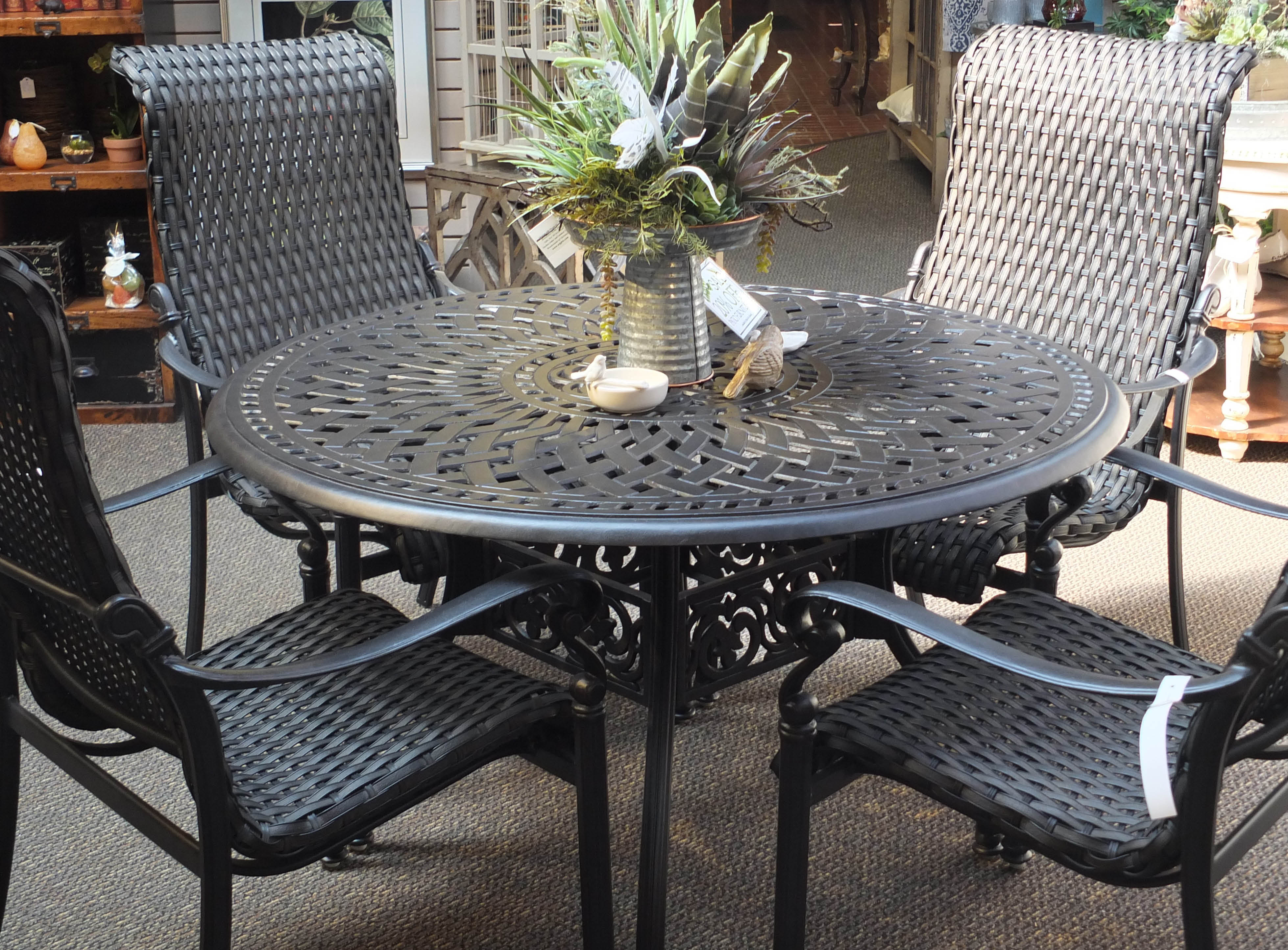 Huge selection outdoor patio furniture at Wight's Nursery in Lynnwood, WA