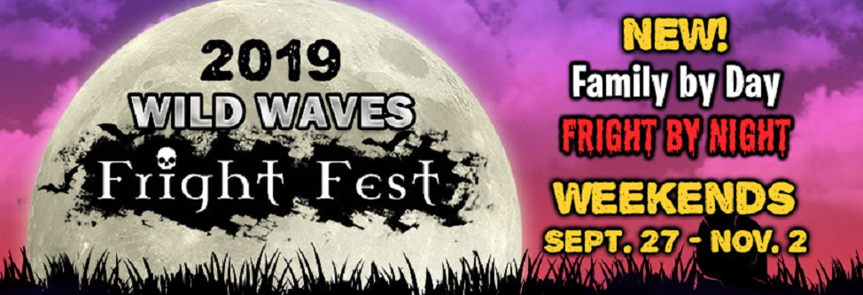 Wild Waves Fright Fest in Federal Way, WA banner image