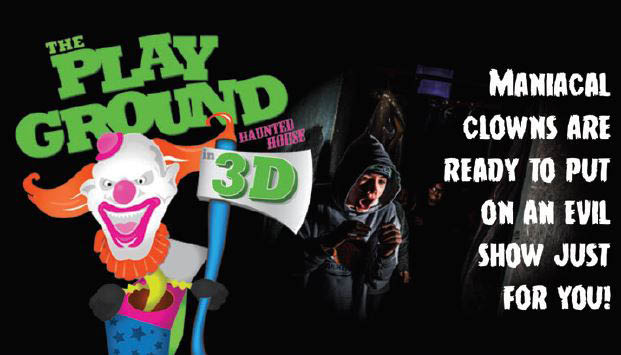 The Playground - Wild Waves Fright Fest - Enchanted Village - Federal Way, WA