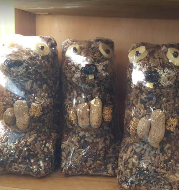 photo of bird seed animals from Wild Birds Unlimited in Royal Oak, MI