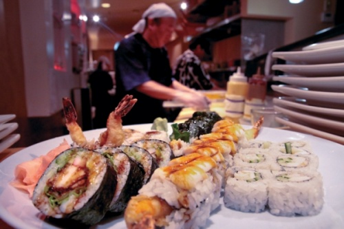 wild ginger asian food and bistro hyde park cincinnati ohio sushi rolls