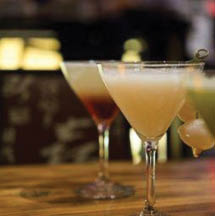 Fine cocktails and spirits pair well with sushi entrees.