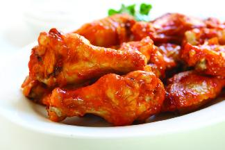 6 pc chicken wings