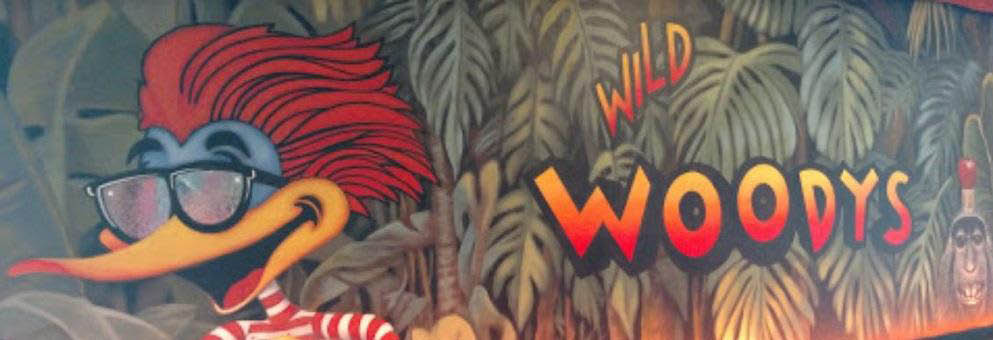 photo of mural inside of Wild Woody's in Shelby Township, MI