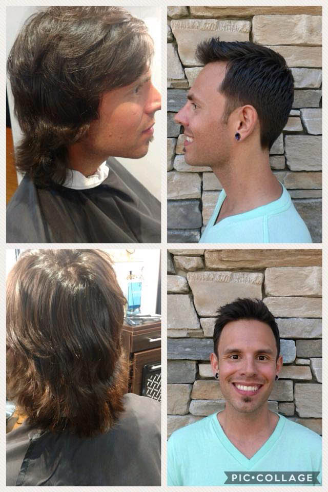 Men's haircuts at William James Hair & Skin Studio in Kent, Washington - haircuts for men - haircuts for children - Kent hair salon