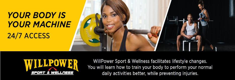 Willpower Sport & Wellness, in Ft. Washington, MD