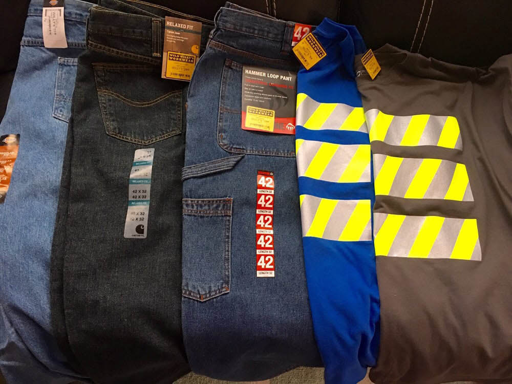 Work pants - work tops - Willy's Discount Workwear in Federal Way, WA and Kent, WA