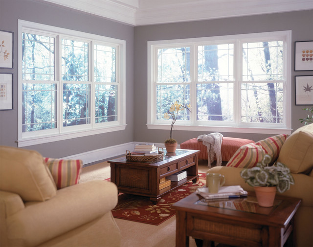 Gorgeous living room windows from Window World North Puget Sound - Lynnwood, WA