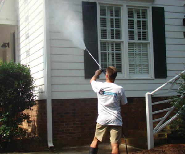 Exterior Home Pressure Washing