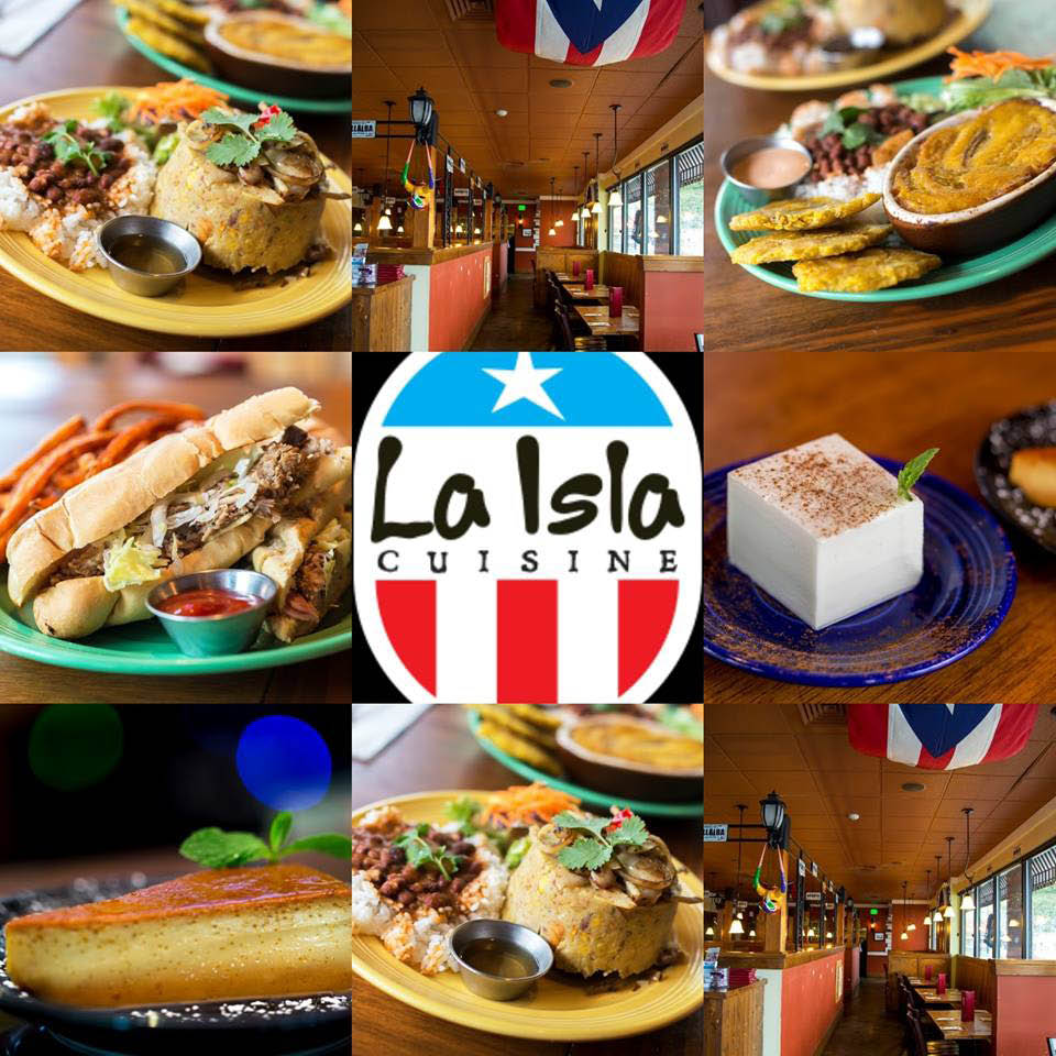 Enjoy lunch at La Isla Cuisine or Twisted Cuban Cafe in Seattle, WA with Wine Tasting Shuttle - Seattle wine tasting