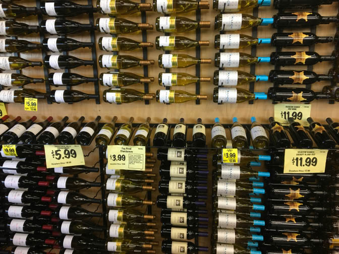 Wine Grocery Outlet Folsom