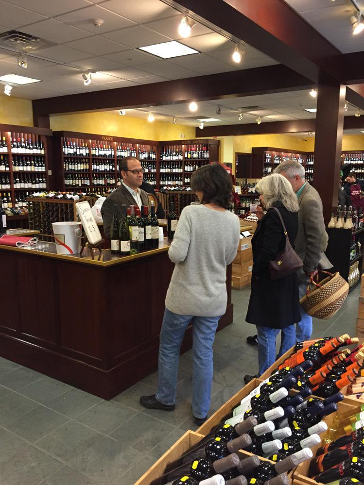 Wine Tasting at Arlington Wine & Liquor