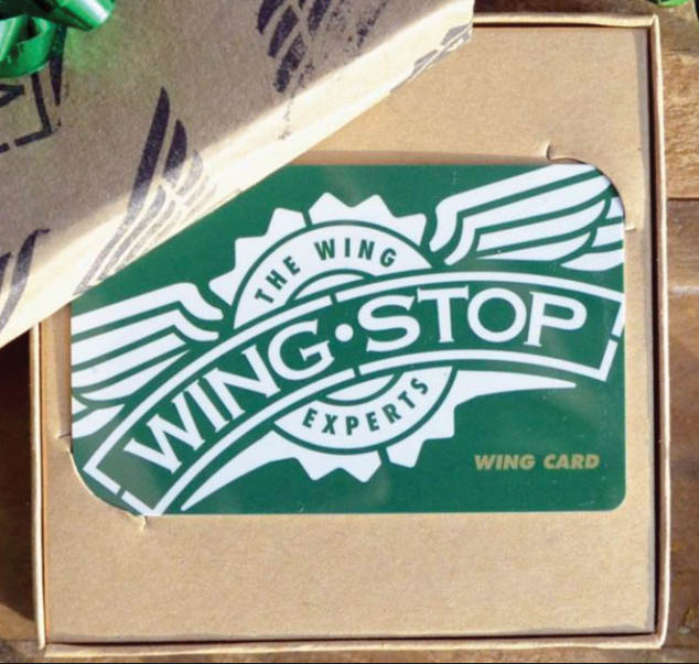 Wingstop Frederick Maryland gift card