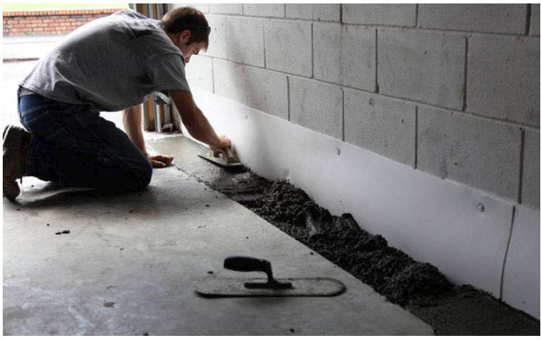 fix, basement, water, waterproofing