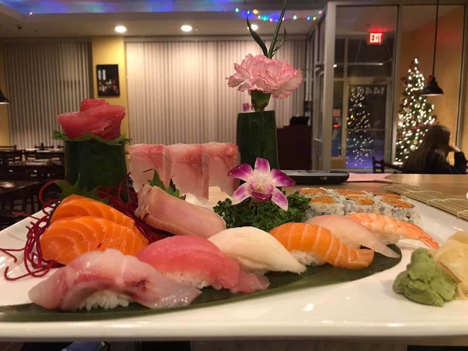 Blackjack Combo served at WoW Sushi!