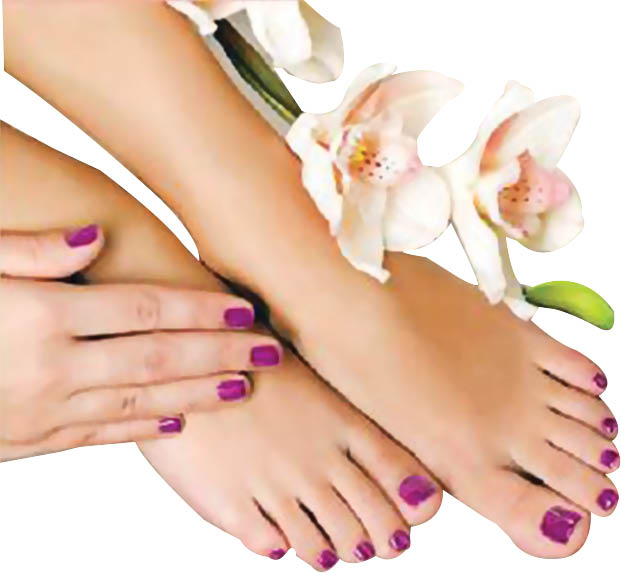 photo of pedicure from Wonder Nails & Spa in Novi, MI