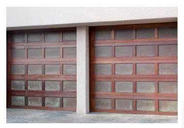 Wooden door garage opener near Spring Valley