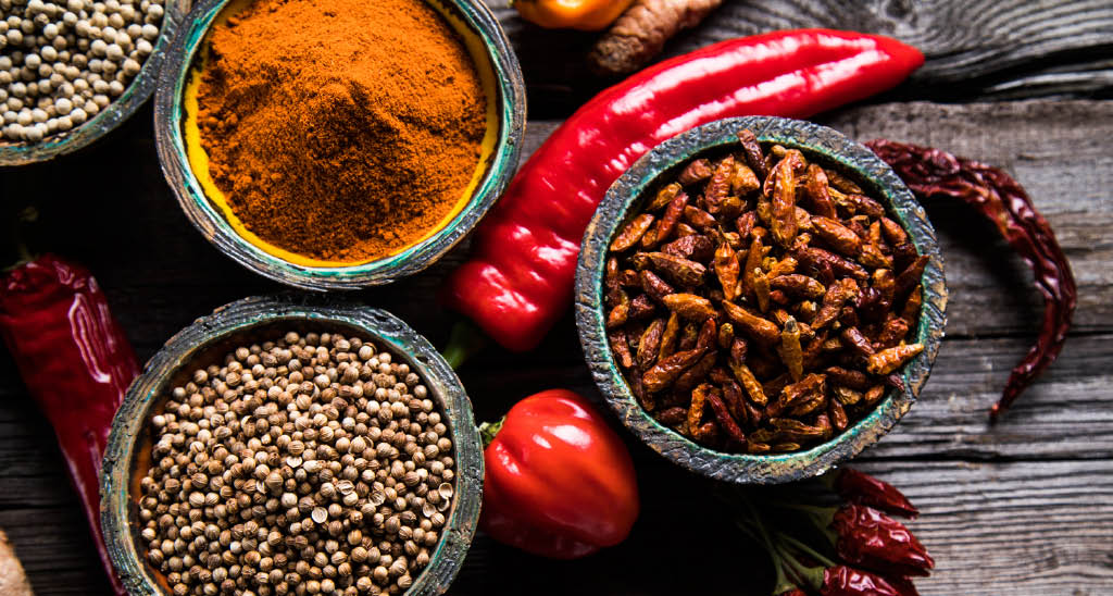 We use only the freshest herbs and spices at Clay Oven Cuisine of India in Woodinville, WA - dining near me - Indian restaurants in Woodinville - Indian food in Woodinville