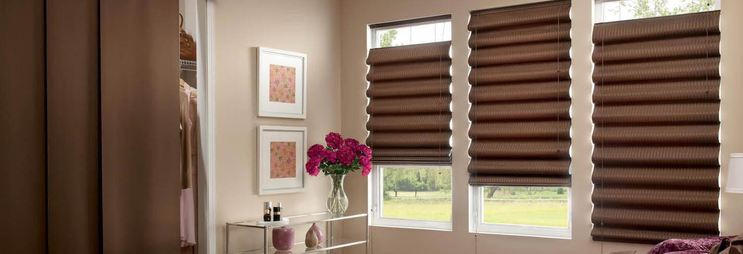 Sliders and shades from World Class Window Covering In Brentwood, CA Banner Ad